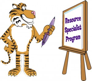 Clip art illustration of a Cartoon Tiger Painting